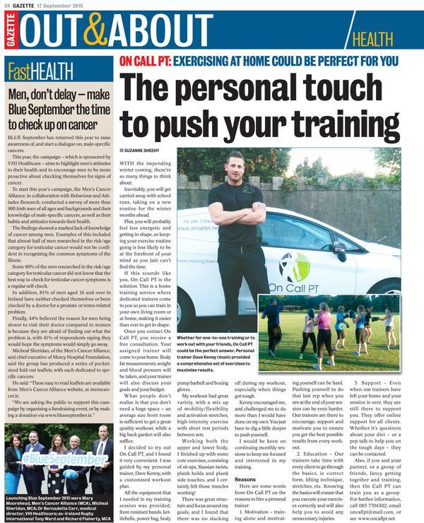 dublin personal trainer